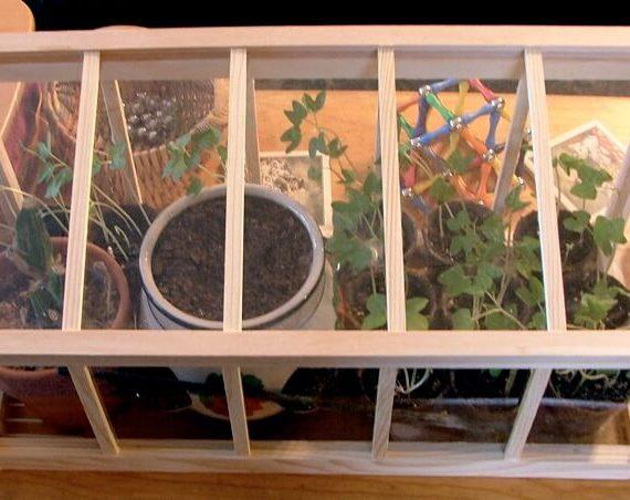 10 idées pour fabriquer sa mini serre de jardin